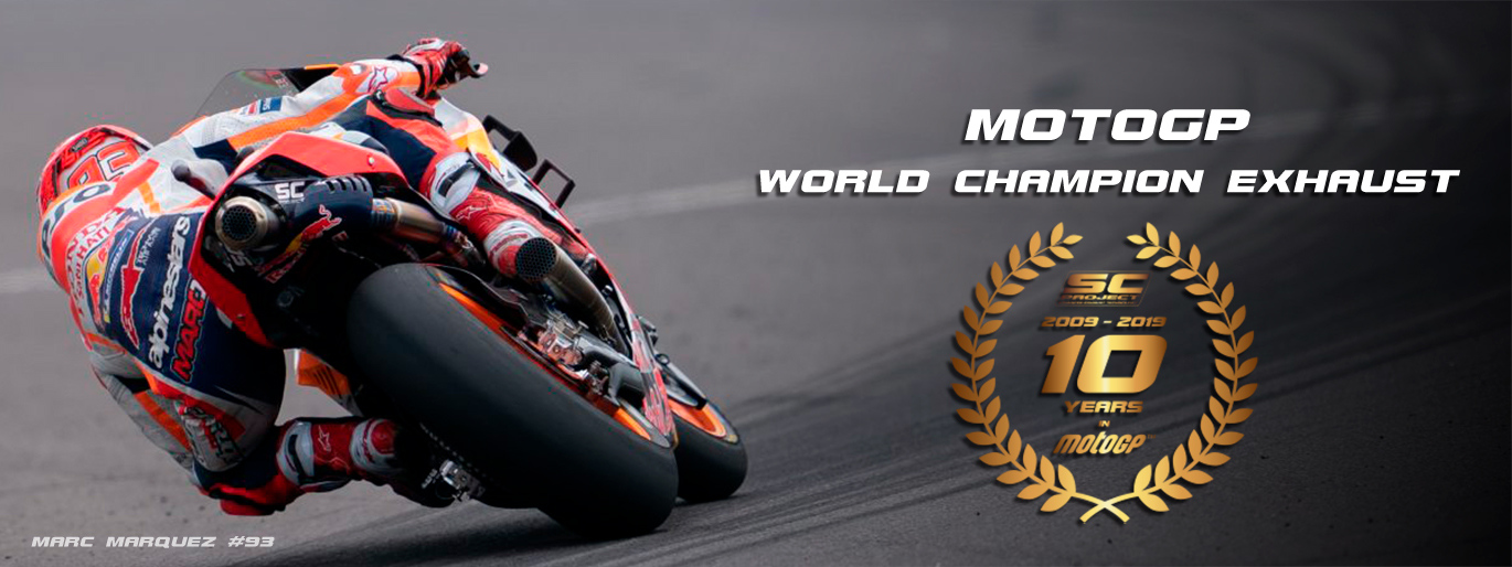 10 years SC-Project MotoGP motorsport world champion exhaust