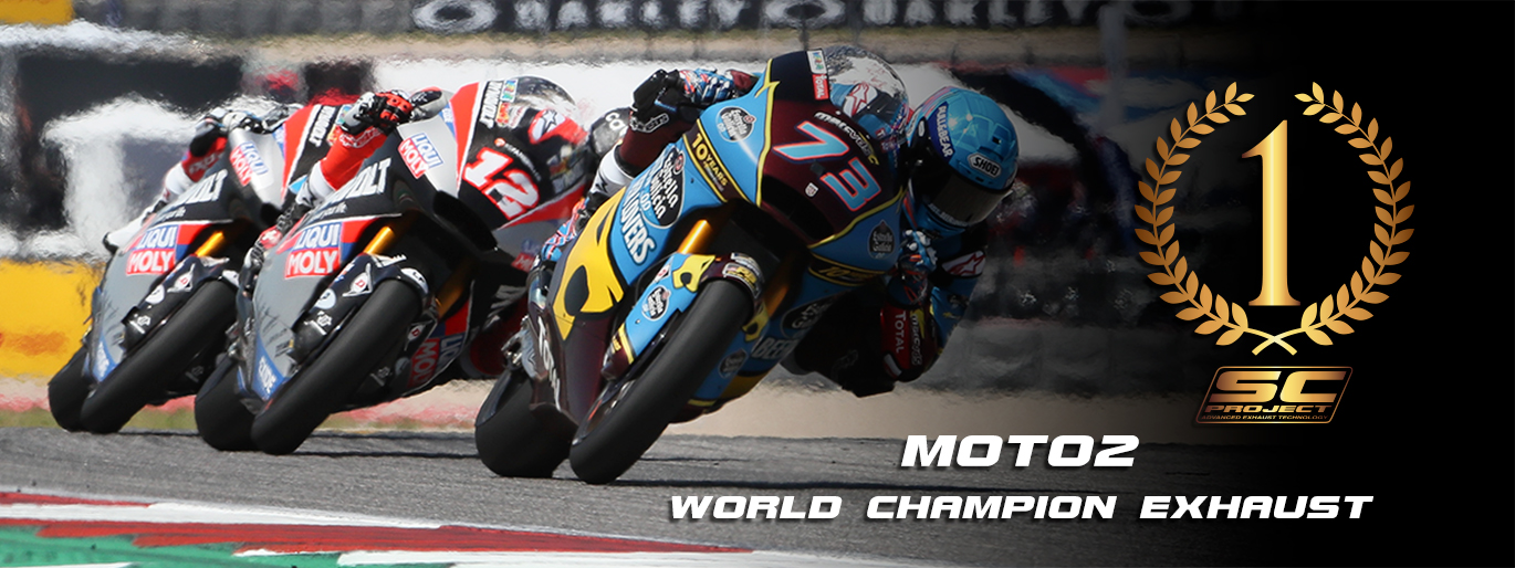 SC-Project world champion exhaust Moto 2 dorna motorsport race MarcVDS IntactGP Dynavolt